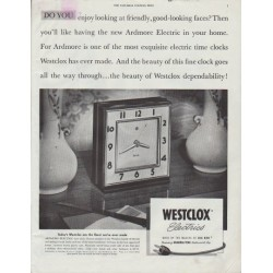 "1948 Westclox Ad ""Do you enjoy looking"""