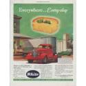 "1948 White Trucks Ad ""Everywhere ... Every day"""