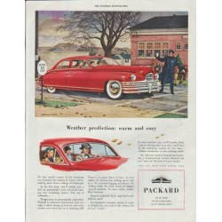 "1948 Packard Ad ""model year 1949"""