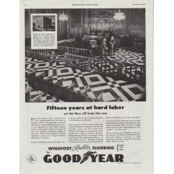 "1948 Goodyear Ad ""Fifteen years at hard labor"""