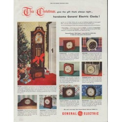 "1948 General Electric Ad ""This Christmas"""