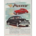 "1948 Pontiac Ad ""model year 1948"""