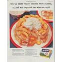 """1948 Birds Eye Ad """"You'll swear"""""""