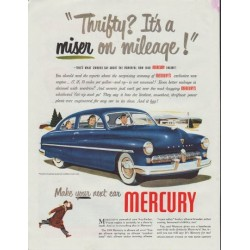 "1948 Mercury Ad ""model year 1949"""