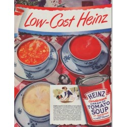 "1948 Heinz Ad ""Low-Cost"""