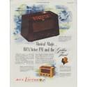 """1948 RCA Victor Ad """"Musical Magic"""""""