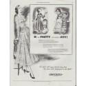 "1948 Sanforized Ad ""Oh so Pretty"""
