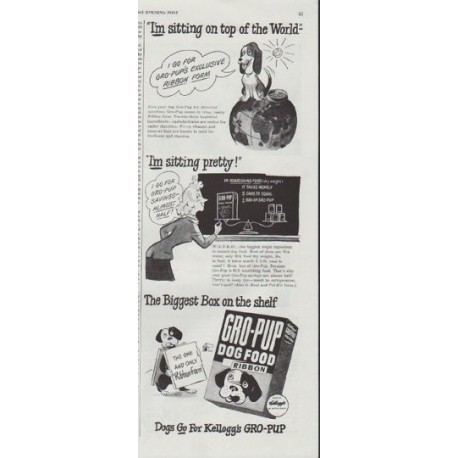 "1948 Kellogg's Ad ""on top of the World"""