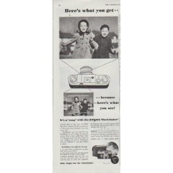 "1948 Argus Ad ""Here's what you get"""