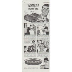 "1948 Milk of Magnesia Ad ""Women"""