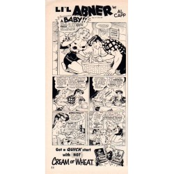 1953 Cream Of Wheat Ad featuring Li'l Abner