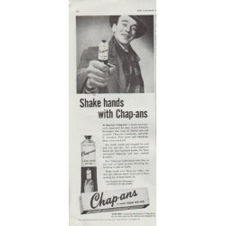 "1948 Chap-ans Ad ""Shake hands"""