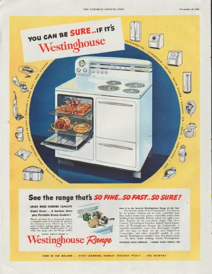 1948 Westinghouse Vintage Ad Quot You Can Be Sure Quot