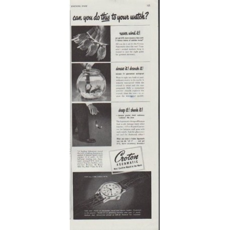 "1948 Croton Ad ""can you do this"""