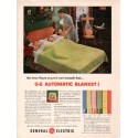 "1953 General Electric Ad ""Automatic Blanket"""