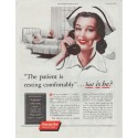 "1948 America Fore Insurance Group Ad ""The patient"""