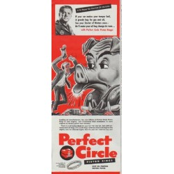 "1948 Perfect Circle Ad ""A Tip From The Doctor"""