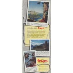 "1948 Oregon Travel Ad ""You'll Remember Oregon!"""