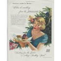 """1948 Jewelry Industry Council Ad """"Christmas"""""""