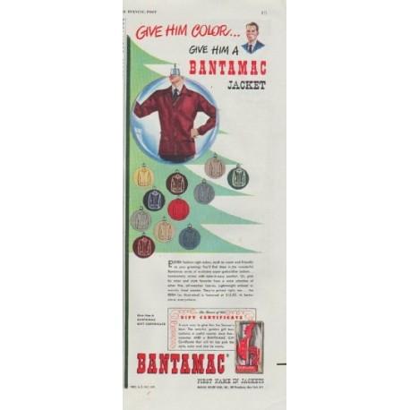 """1948 Bantamac Ad """"Give Him Color"""""""