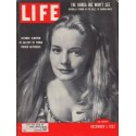 """1952 LIFE Magazine Cover Page """"Suzanne Cloutier"""""""