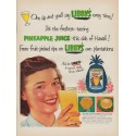 """1952 Libby's Ad """"One sip"""""""