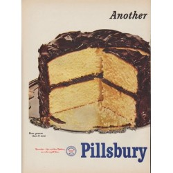 "1952 Pillsbury Ad ""Golden Yellow"""