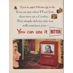 "1952 Crosley Ad ""You can see it"""