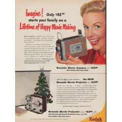 "1952 Kodak Ad ""Imagine"""