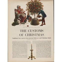 "1952 The Customs of Christmas Article ""Traditions have grown"""