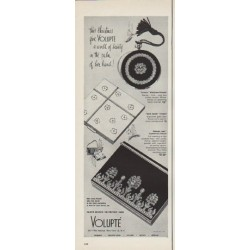 "1952 Volupte Ad ""a world of beauty"""