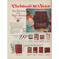 "1952 RCA Victor Ad ""The Gift That Keeps on Giving"""
