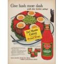 """1952 Del Monte Ad """"Give hash more dash"""""""