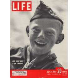 "1950 LIFE Magazine Cover Page ""Boy Scout"""