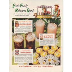 """1950 Borden's Ad """"Elsie's Family"""""""