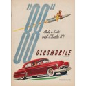 "1950 Oldsmobile Ad ""Make a Date"""