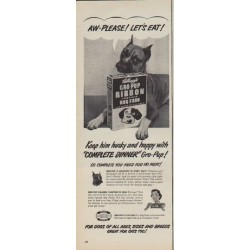 "1950 Kellogg's Ad ""Let's Eat"""