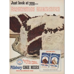 "1950 Pillsbury Ad ""Just look at you"""