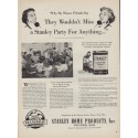 """1950 Stanley Home Products Ad """"My Women Friends"""""""