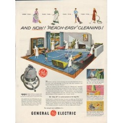 "1952 General Electric Ad ""Reach-Easy"""
