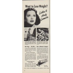 "1952 Ayds Ad ""Want to Lose Weight?"""