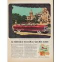 "1952 Nash Motors Ad ""Built for You"""