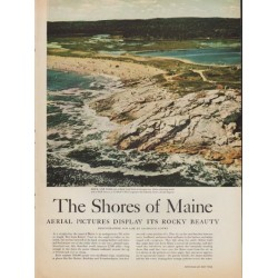 "1952 The Shores of Maine Article ""photographed by Laurence Lowry"""
