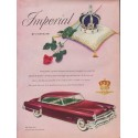 "1952 Chrysler Ad ""Imperial by Chrysler"""