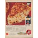 """1960 A&P Ad """"Ann Page Macaroni"""""""