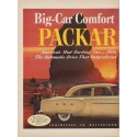 "1952 Packard Ad ""Big-Car Comfort"""