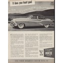 """1952 Buick Ad """"It does your heart good"""""""
