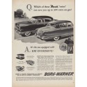 "1952 Borg-Warner Ad ""Nash ""twins"""""