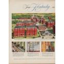 """1952 Calvert Distillers Corporation Ad """"From Kentucky"""""""