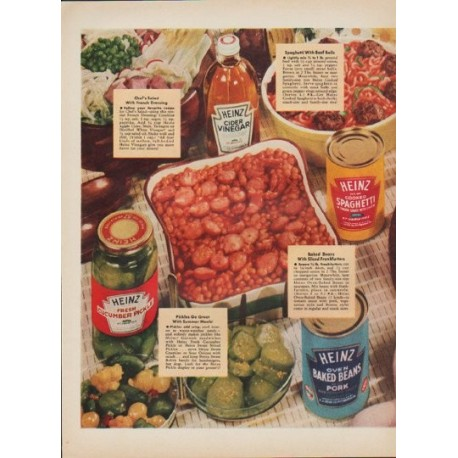 "1952 Heinz Ad ""Beat The Heat"""